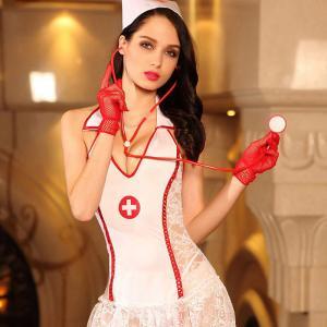 惹火治愈系护士装(套装)