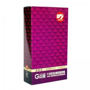 520超大颗粒G点安全套 香氛型(10只)